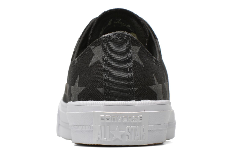 Sneakers Converse Chuck Taylor All Star II Ox M Zwart rechts