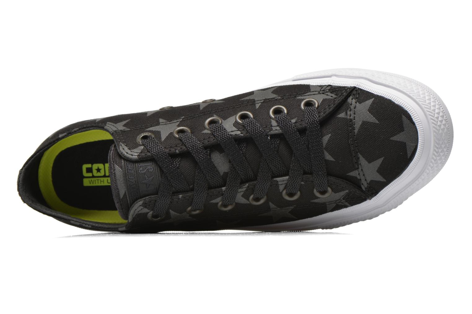 Trainers Converse Chuck Taylor All Star II Ox M Black view from the left