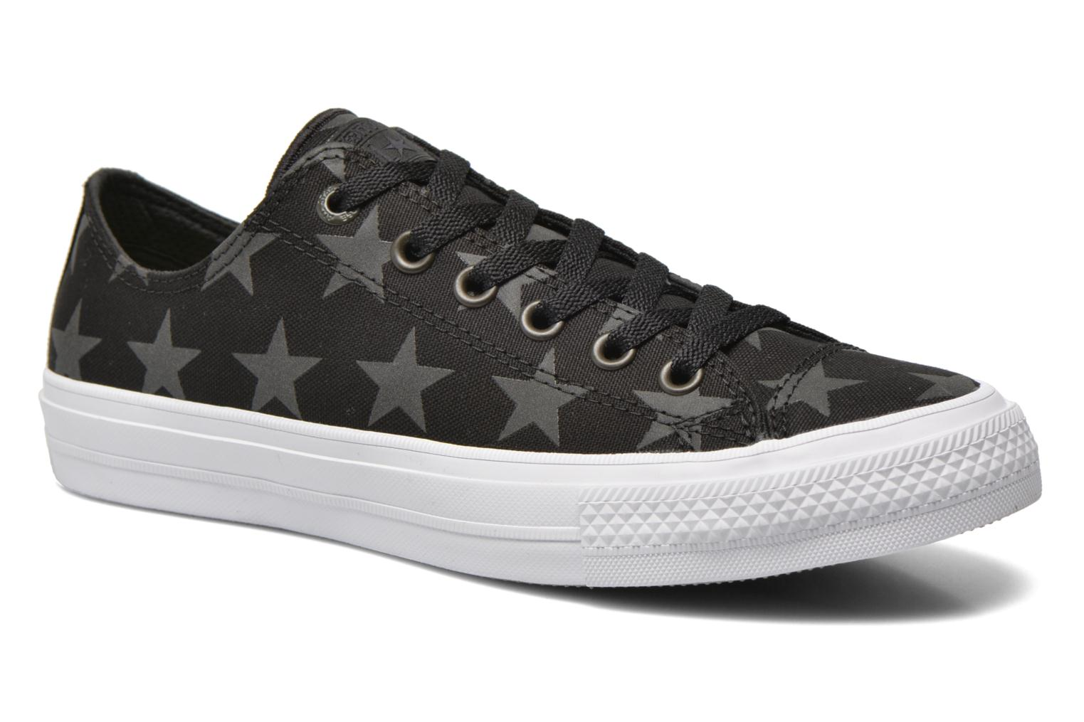 Trainers Converse Chuck Taylor All Star II Ox M Black detailed view/ Pair view