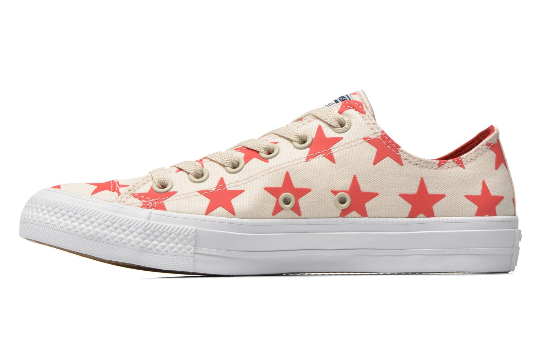 Sneaker Converse Chuck Taylor All Star II Ox M beige ansicht von vorne