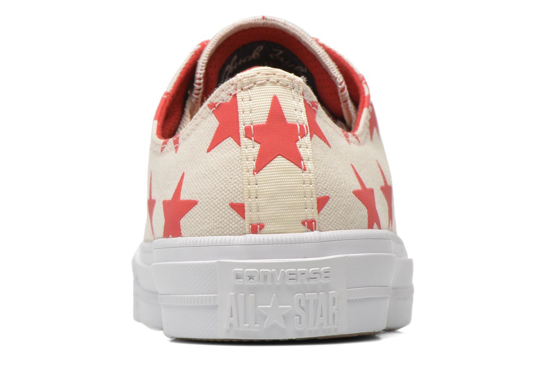 Sneaker Converse Chuck Taylor All Star II Ox M beige ansicht von rechts