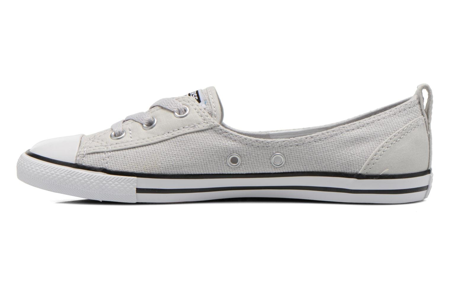 Chuck Taylor All Star Ballet Lace Mouse-White-Black