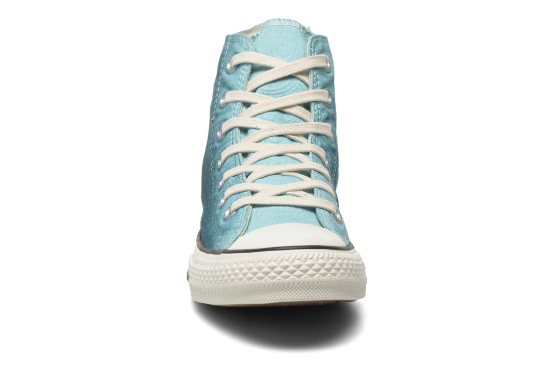 Baskets Converse Chuck Taylor All Star Hi Sunset Wash W Bleu vue portées chaussures