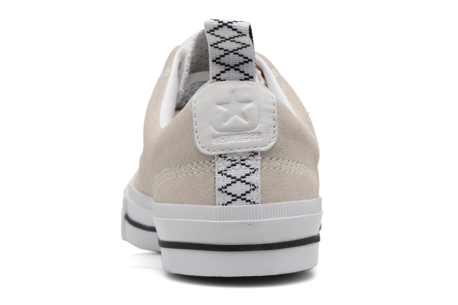 Baskets Converse Star Player Premium Ox M Beige vue droite
