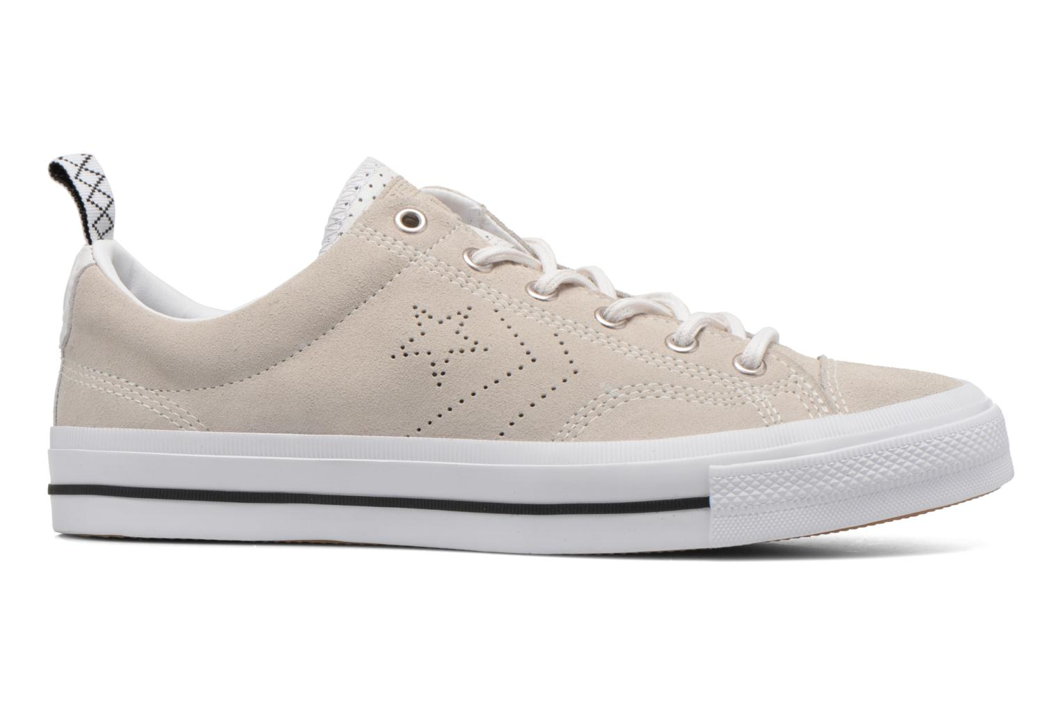 Baskets Converse Star Player Premium Ox M Beige vue derrière