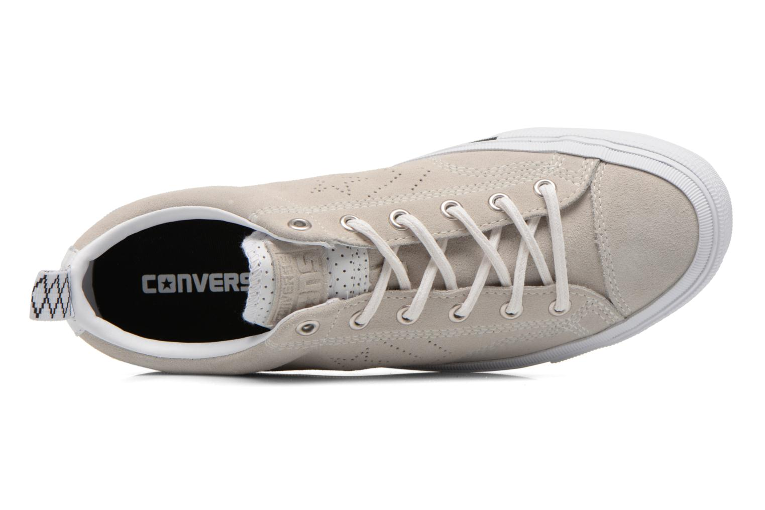 Sneakers Converse Star Player Premium Ox M Beige immagine sinistra