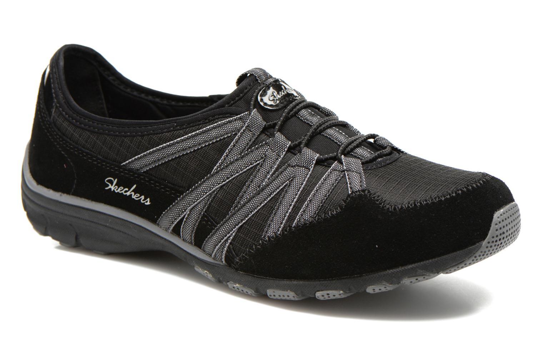 Baskets Skechers Conversations - Holding Aces 22551 Noir vue détail/paire