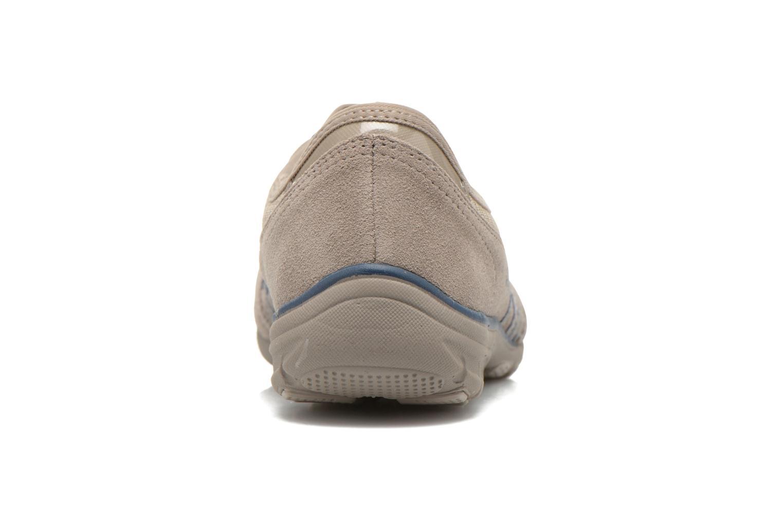 Baskets Skechers Conversations - Holding Aces 22551 Beige vue droite