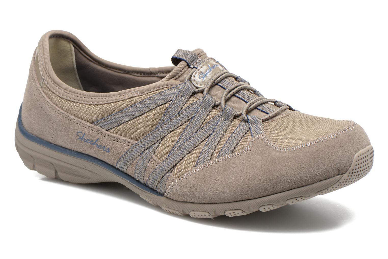 Baskets Skechers Conversations - Holding Aces 22551 Beige vue détail/paire