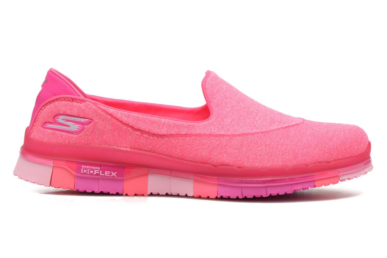 Sportschuhe Skechers Go Flex 14010 rosa ansicht von hinten
