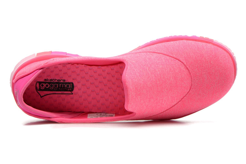 Sportschuhe Skechers Go Flex 14010 rosa ansicht von links