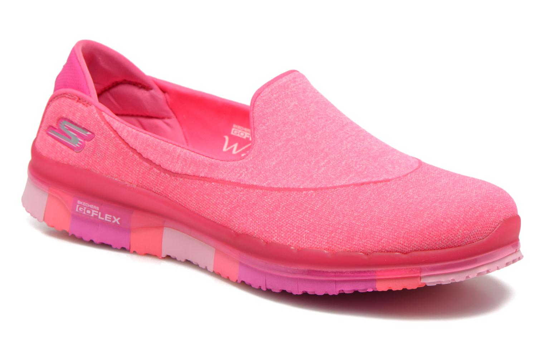 Sportschuhe Skechers Go Flex 14010 rosa detaillierte ansicht/modell
