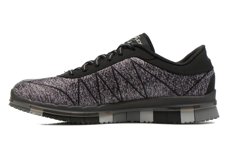 Zapatillas de deporte Skechers Go Flex - Ability 14011 Negro vista de frente