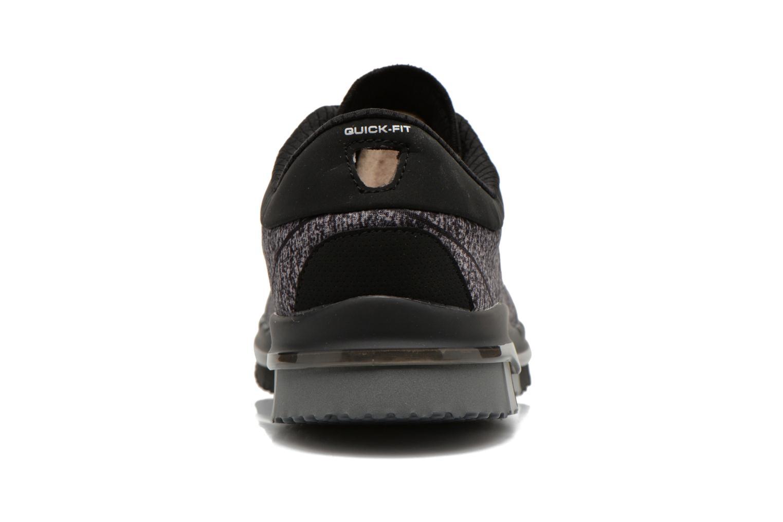 Sportschuhe Skechers Go Flex - Ability 14011 schwarz ansicht von rechts