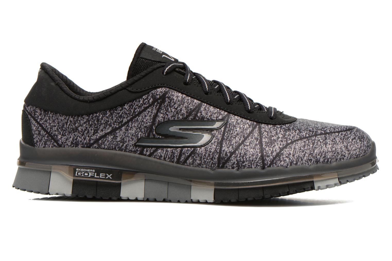 Sport shoes Skechers Go Flex - Ability 14011 Black back view
