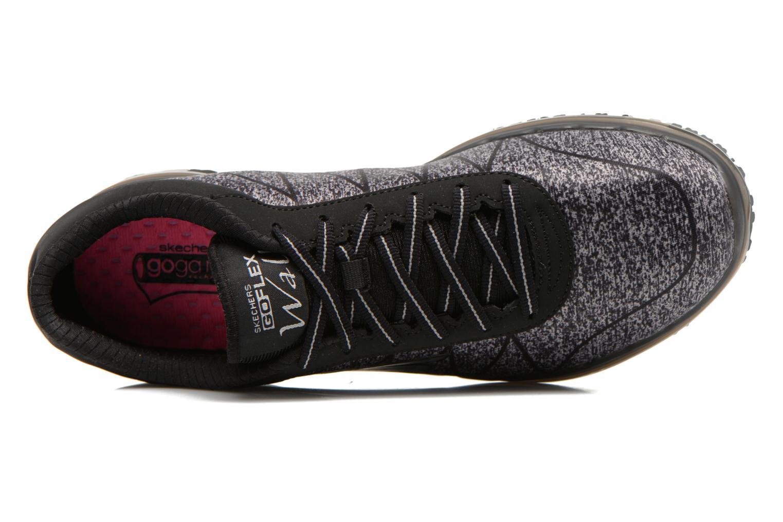 Sportschuhe Skechers Go Flex - Ability 14011 schwarz ansicht von links