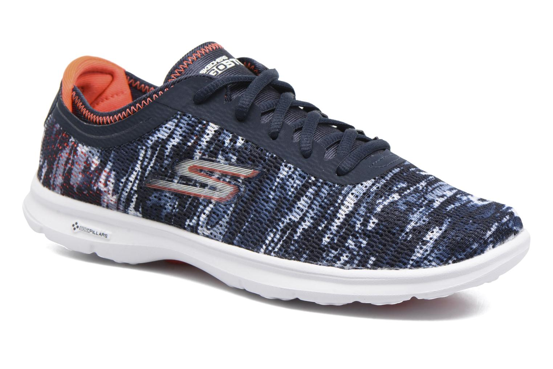 Sportssko Skechers Go Step 14200 Blå detaljeret billede af skoene