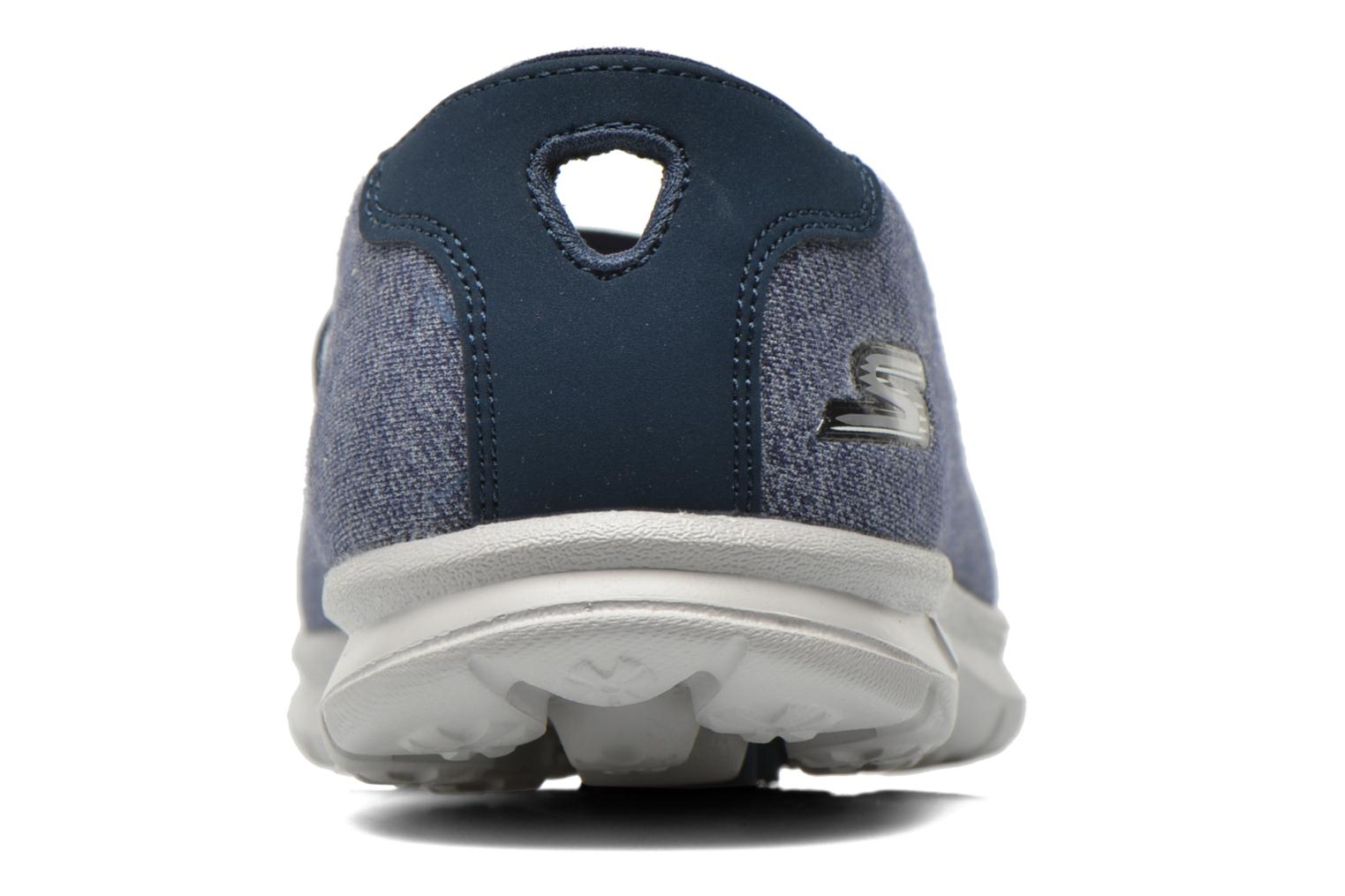 Ballet pumps Skechers Go Step - Pose 14209 Blue view from the right