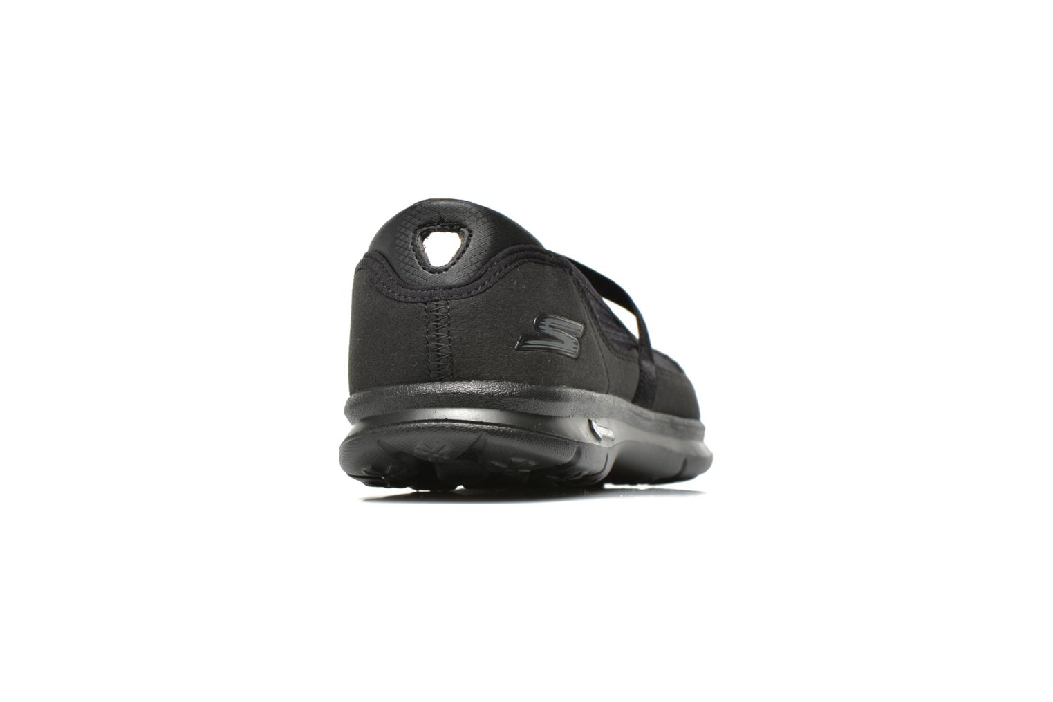 Ballet pumps Skechers Go Step - Original 14213 Black view from the right