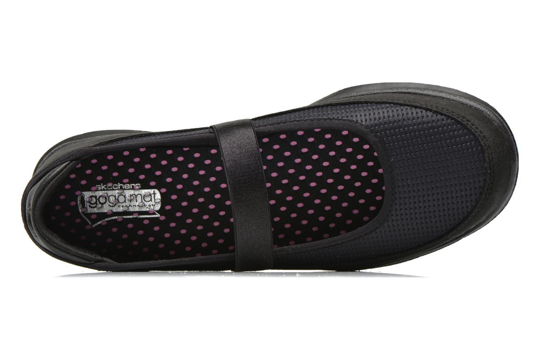 Ballerines Skechers Go Step - Original 14213 Noir vue gauche