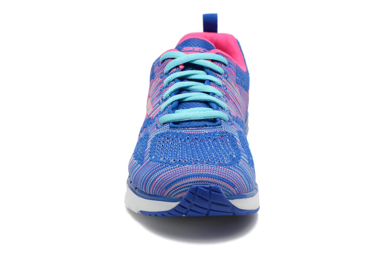 Chaussures de sport Skechers Skech-Air Infinity-Wlidcard 12113 Bleu vue portées chaussures