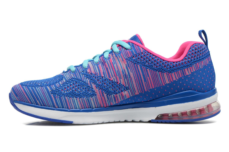 Chaussures de sport Skechers Skech-Air Infinity-Wlidcard 12113 Bleu vue face