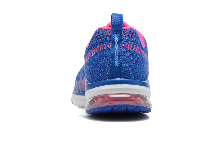 Chaussures de sport Skechers Skech-Air Infinity-Wlidcard 12113 Bleu vue droite