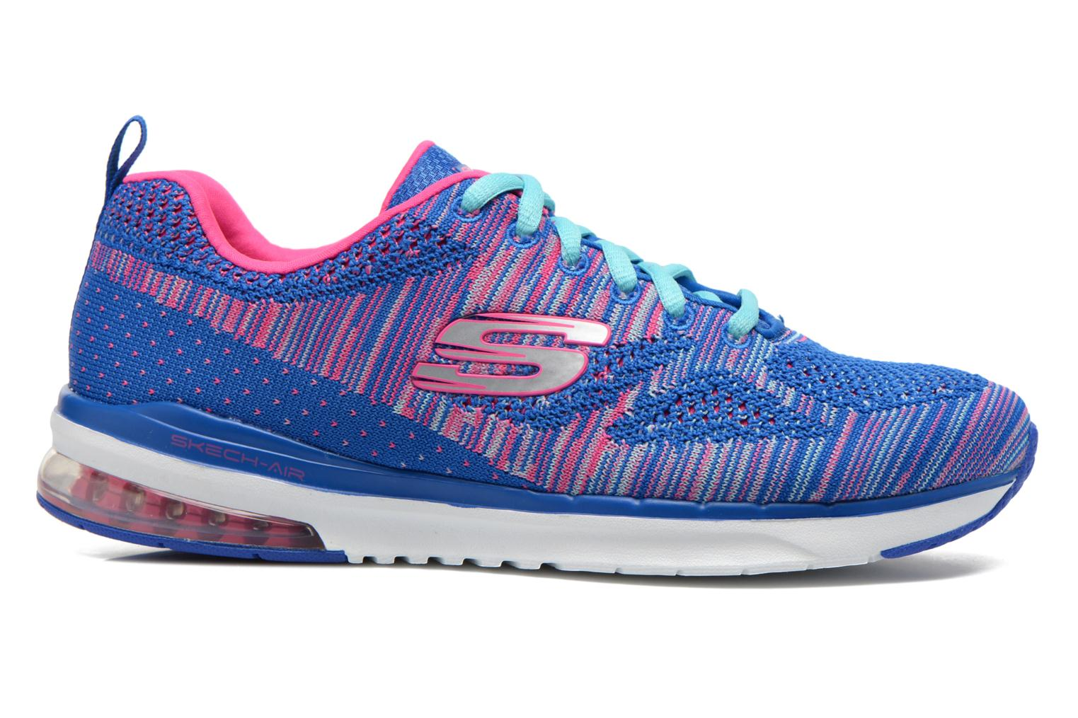 Sport shoes Skechers Skech-Air Infinity-Wlidcard 12113 Blue back view