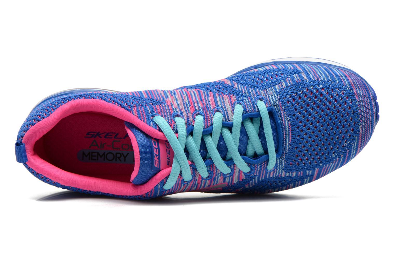 Chaussures de sport Skechers Skech-Air Infinity-Wlidcard 12113 Bleu vue gauche