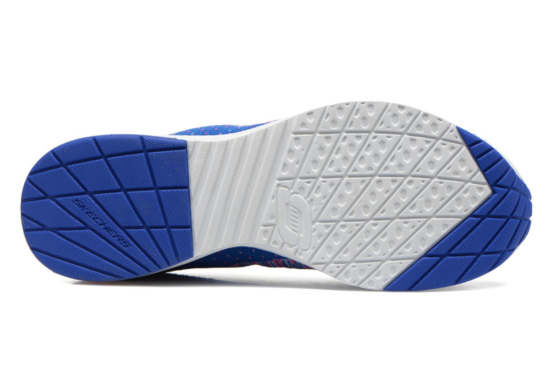 Chaussures de sport Skechers Skech-Air Infinity-Wlidcard 12113 Bleu vue haut