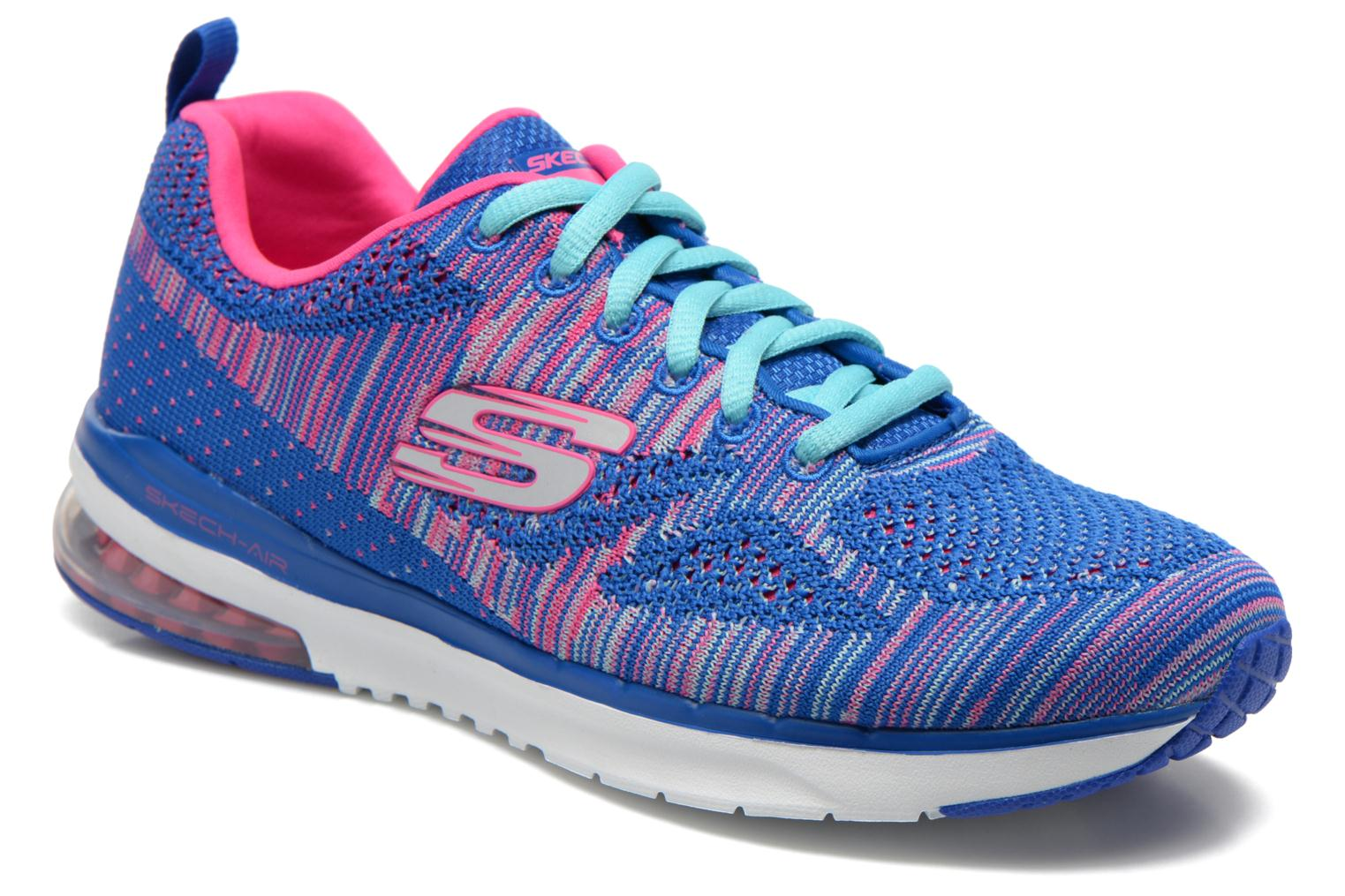 Sport shoes Skechers Skech-Air Infinity-Wlidcard 12113 Blue detailed view/ Pair view
