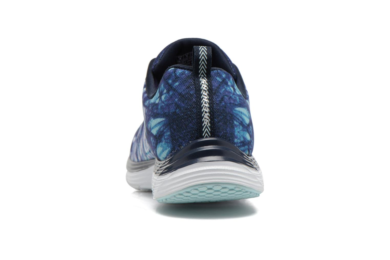 Sportschuhe Skechers Valeris - Mai Tai 12222 blau ansicht von rechts