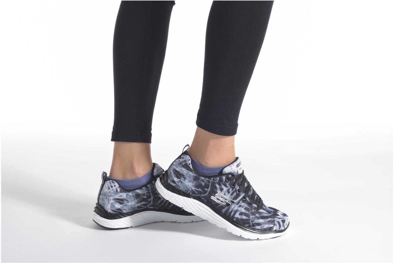 Chaussures de sport Skechers Valeris - Mai Tai 12222 Bleu vue bas / vue portée sac