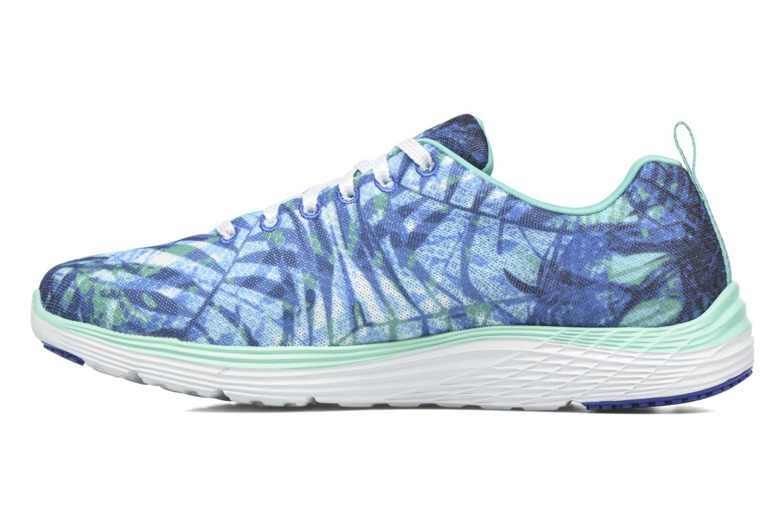Zapatillas de deporte Skechers Valeris - Mai Tai 12222 Azul vista de frente