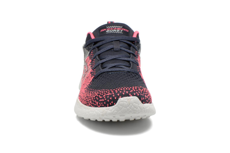 Chaussures de sport Skechers Burst - Ellipse 12437 Multicolore vue portées chaussures