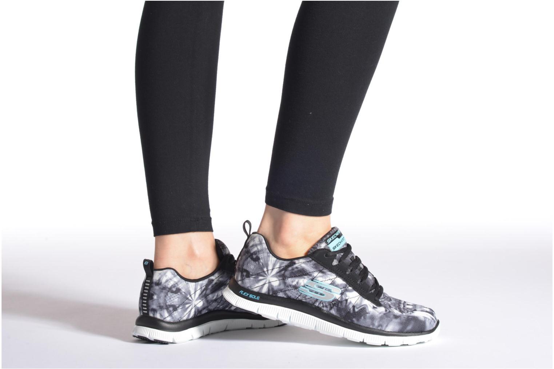 Chaussures de sport Skechers Flex Appeal-Cosmic Rays 12447 Multicolore vue bas / vue portée sac
