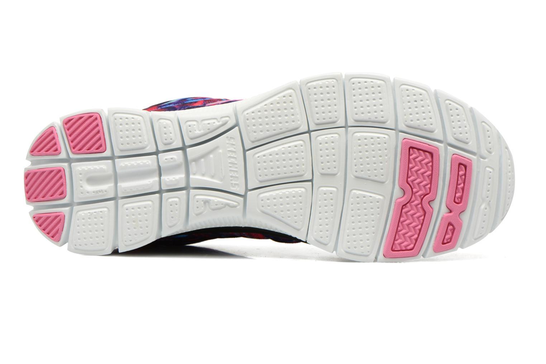 Chaussures de sport Skechers Flex Appeal-Cosmic Rays 12447 Multicolore vue haut