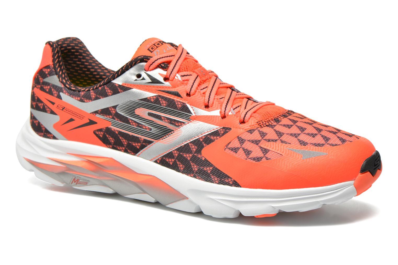 Sport shoes Skechers Go Run Ride 5 53997 Orange detailed view/ Pair view
