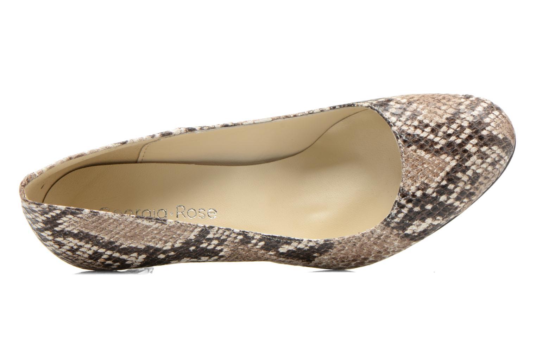 Zapatos de tacón Georgia Rose Selina Multicolor vista lateral izquierda