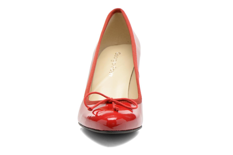 Escarpins Georgia Rose Sabib Rouge vue portées chaussures