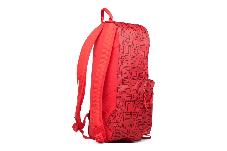 Mochilas Converse Core Poly Backpack M Vino vista lateral derecha