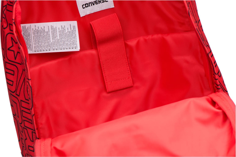 Rucksäcke Converse Core Poly Backpack M weinrot ansicht von hinten