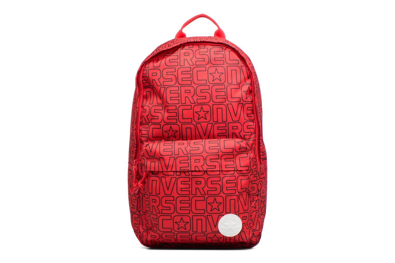 Sacs à dos Converse Core Poly Backpack M Bordeaux vue détail/paire