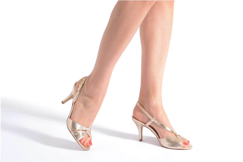 Sandales et nu-pieds San Marina Vueda/Met Or et bronze vue bas / vue portée sac