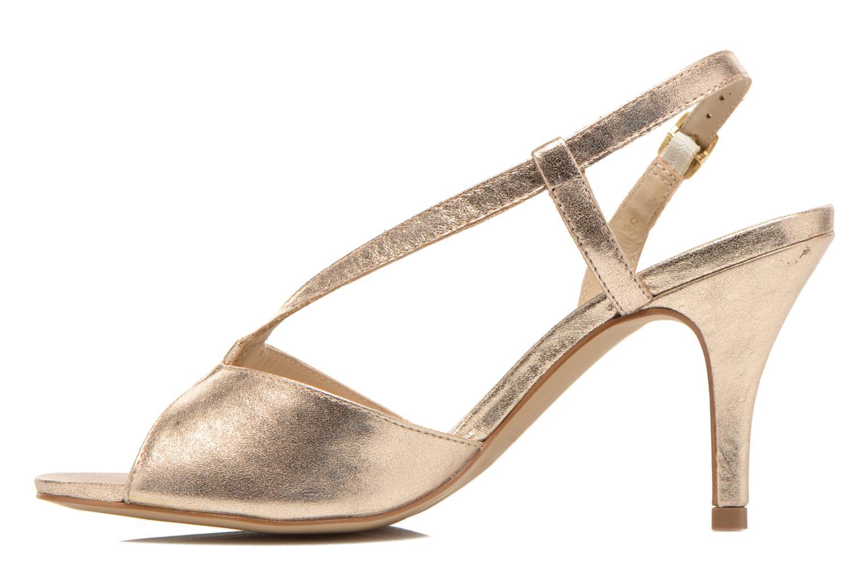 Sandales et nu-pieds San Marina Vueda/Met Or et bronze vue face