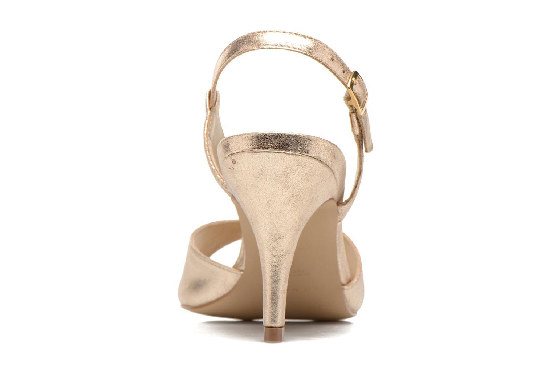 Sandales et nu-pieds San Marina Vueda/Met Or et bronze vue droite