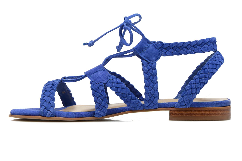 Sandals San Marina Vesma/Nub Blue front view
