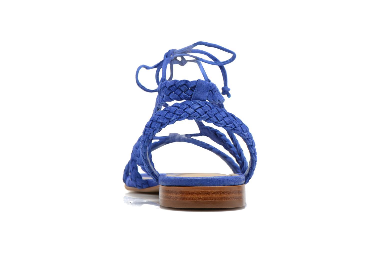 Sandales et nu-pieds San Marina Vesma/Nub Bleu vue droite