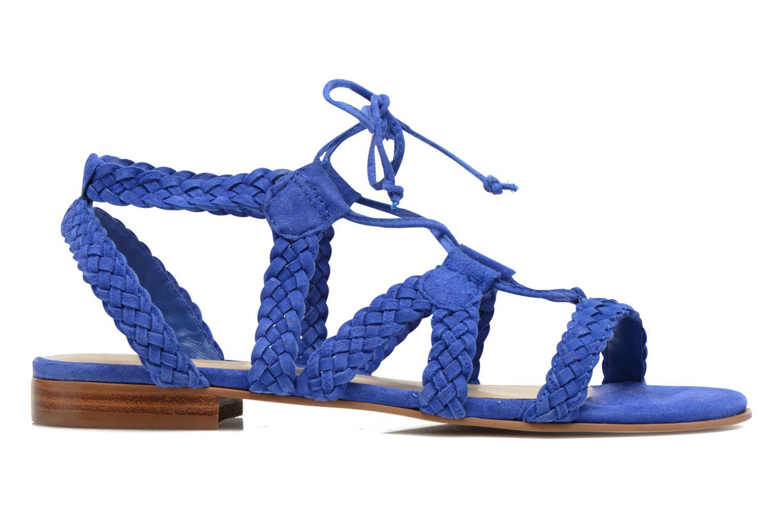 Sandalen San Marina Vesma/Nub Blauw achterkant