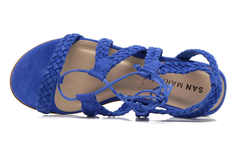 Sandales et nu-pieds San Marina Vesma/Nub Bleu vue gauche